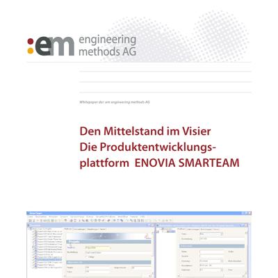 Mittelstand im Visier: ENOVIA SMARTEAM
