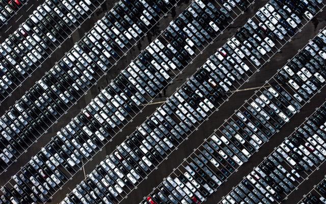 Foto von einem Automobillager