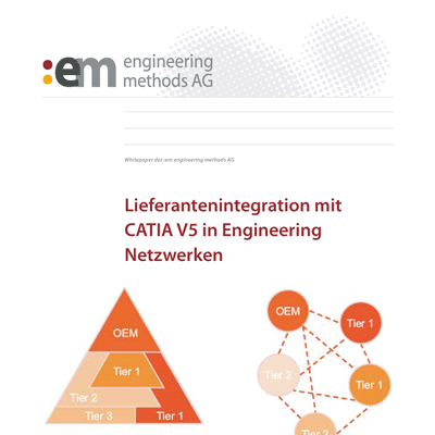 Whitepaper: Lieferantenintegration mit CATIA