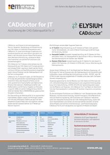 CADdoctor for JT PDF
