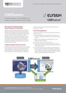 CADfeature von Elysium