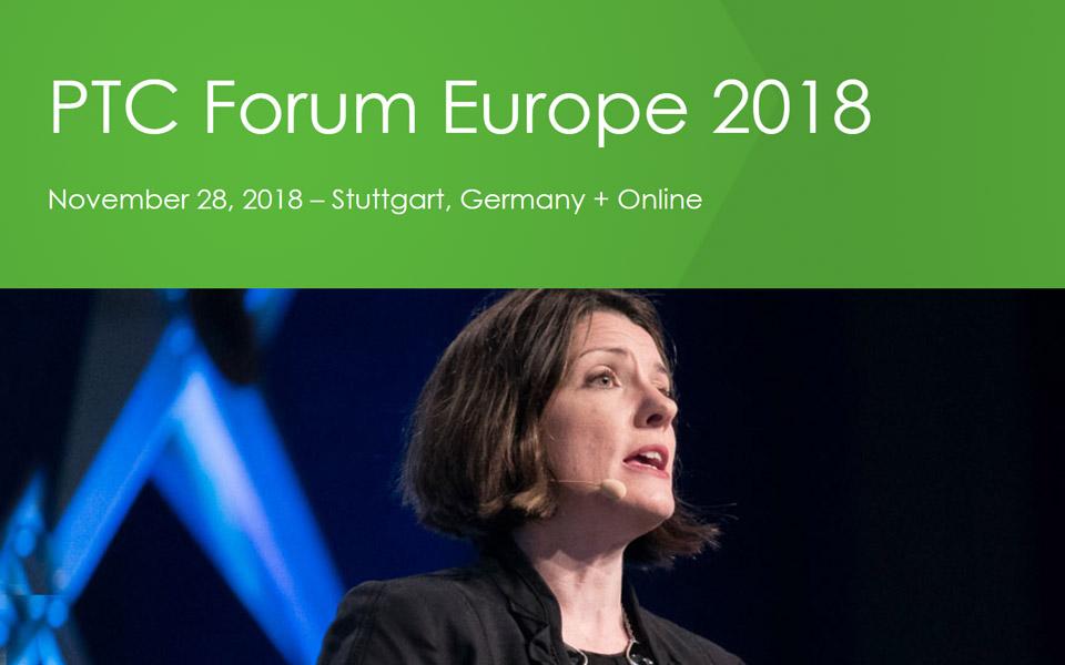 PTC Forum Europe 2018