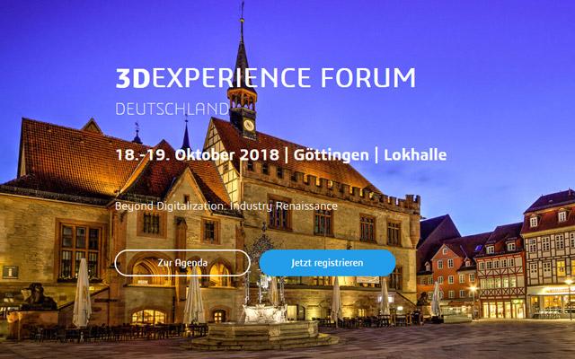 Keyvisual 3DEXPERINECE Forum 2018