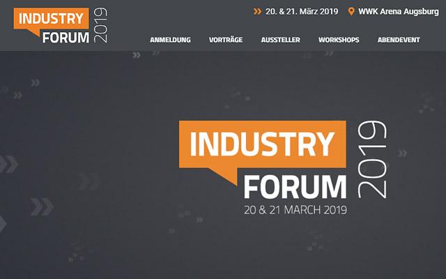 Keyvisual Industry Forum 2019