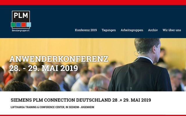 Keyvisual PLM Anwenderkonferenz