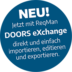ReqMan für DOORS eXchange Teaser