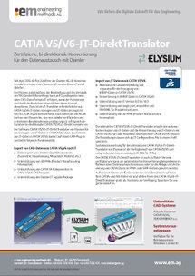 CATIA V5/V6-JT-DirektTranslator