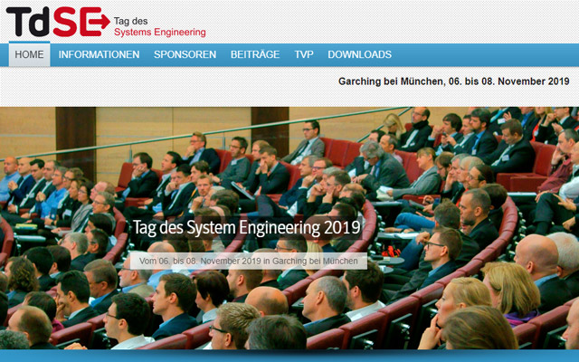 Keyvisual Tag des System Engineering 2019