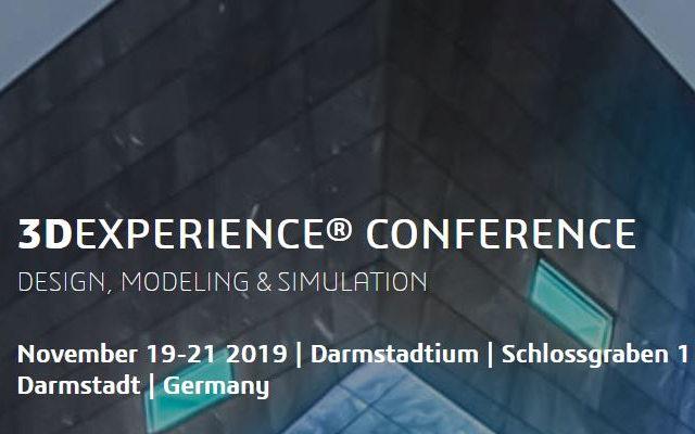 Keyvisual 3DEXPERINECE Conference 2019