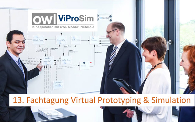 Keyvisual 13. Fachtagung Virtual Prototyping & Simulation