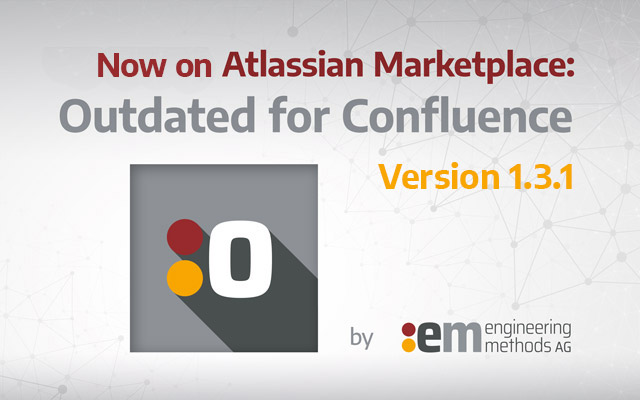 Keyvisual Outdated for Confluence Version 1.3.1