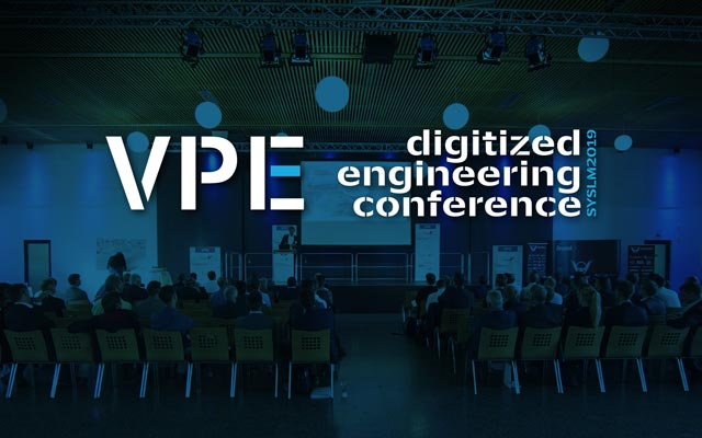 Keyvisual VPE digitized engineering conference SysLM 2019