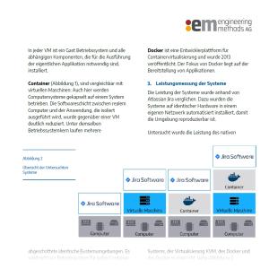 """Whitepaper """"Benchmark: Performanz von Docker & VM im Vergleich"""""""
