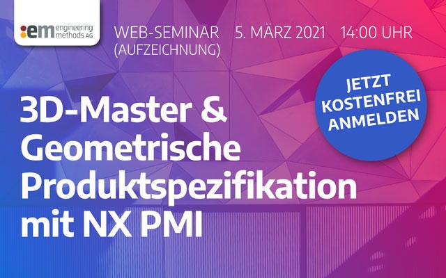 3D Master NX