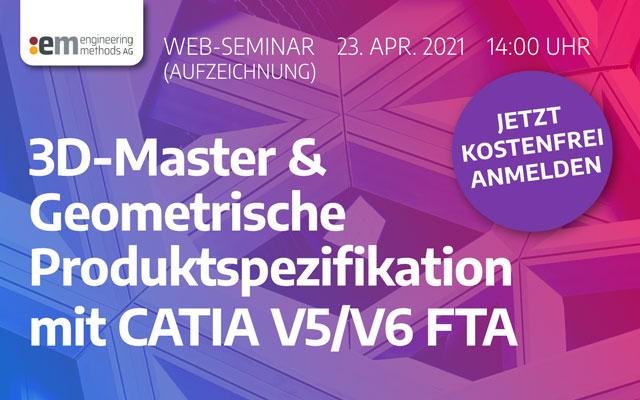 3D Master CATIA